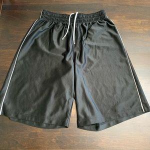 Energy Zone Black Athletic Shorts